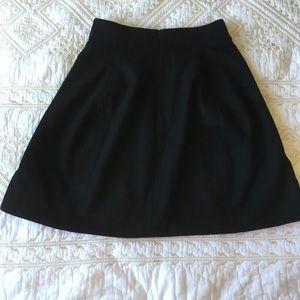 Ralph Lauren Black wool skirt